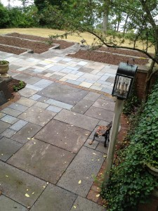 Interlaken, NY - Repairing an existing patio and adding more patio space.