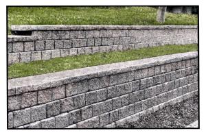Interlaken, NY - Landscape Block Retaining Wall