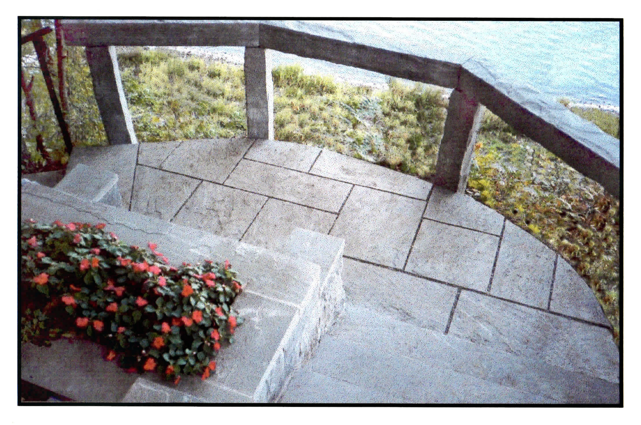 Lakefront Stone Steps
