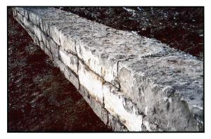 Heavy Stone Retaining Wall