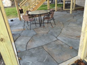 Ovid, NY - Irregular Flagstone Patio